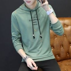 T for TOP - Long-Sleeve Hooded Top