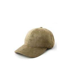 Ohkkage - Faux-Suede Baseball Cap