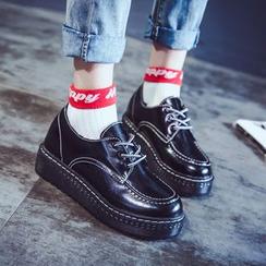 Sofree - 厚底船鞋