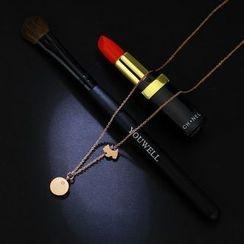 LoveGem - Rhinestone Pendant Necklace