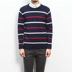 Riverland - Stripe Knit Top