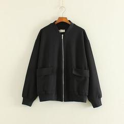 Mushi - Plain Zip Jacket