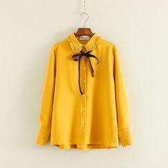 三木社 - 蝴蝶結襯衫