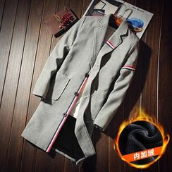 Alvicio - Fleece-lined Lapel Coat