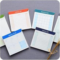 VANDO - Planner / Memo / Schedule (Small)