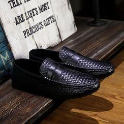 BINSHOU - Woven Loafers
