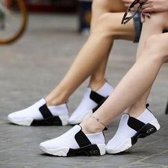 BINSHOU - Colour Block Mesh Sneakers