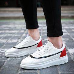 BINSHOU - Panel Sneakers