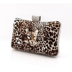 Glam Cham - Leopard Clutch