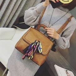 Beloved Bags - Ribbon Detail Studded Backpack