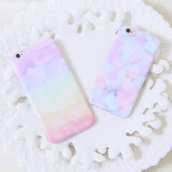 Sea Girl - 印花矽膠手機殼 - iPhone 6s / 6s Plus