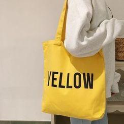 Ms Bean - Lettering Canvas Shopper Bag
