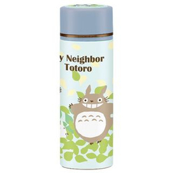 Skater - My Neighbor Totoro Compact Stainless Mug Bottle (Blue)