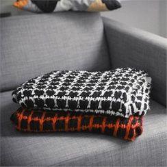TOMONARI - Check Knit Scarf