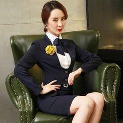 Aision - Jacket / Shirt / Pencil Skirt