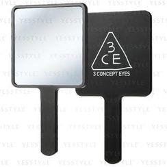 3 CONCEPT EYES - Square Mini Hand Mirror (Black)