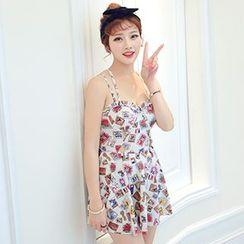 Sewwi - 印花裙式泳裝