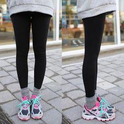 migunstyle - Fleece-Lined Leggings