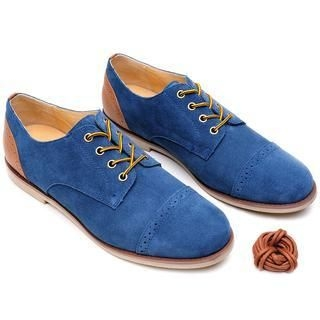 Life 8 - Two-Tone Suede Casual Shoes