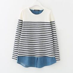 Meimei - Stripe Knit Top