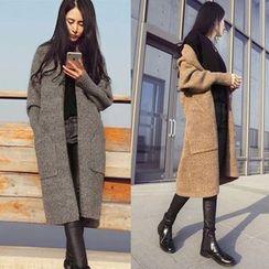 Sienne - Mélange Knit Coat