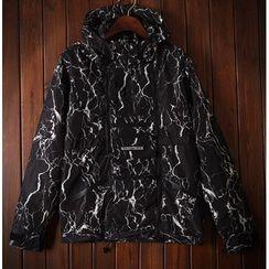 Bigboy - Print Hooded Jacket