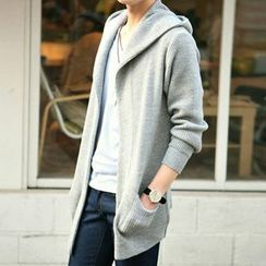 VILUNI - Plain Long Cardigan