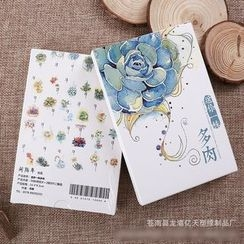 Mila Blue - Flower Print Postcard Set