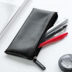 雲木良品 - 拉鏈鉛筆手提包