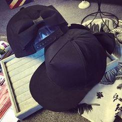 卿本佳人 - 蝴蝶結棒球帽