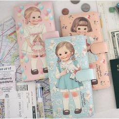 Full House - Doll-Printed Passport Holder