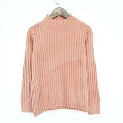 Polaris - 小高领毛衣
