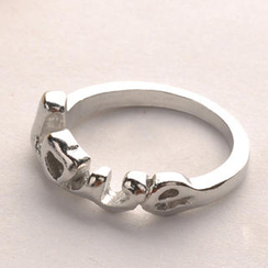 Fit-to-Kill - LOVE Letter Ring