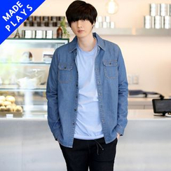 PLAYS - Washed Denim Shirt