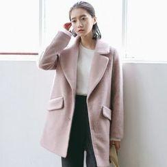 Woodie - Lapel Wool Coat