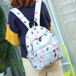 Bagolo - Printed Canvas Backpack