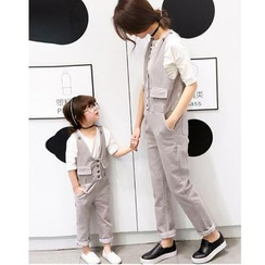 Candy Baby - Family Matching Corduroy Jumper Pants