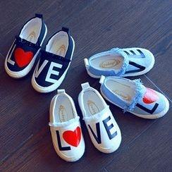 BOOM Kids - 小童印花帆布輕便鞋