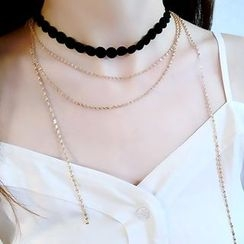 Ticoo - Chain Layered Choker