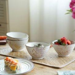 Kawa Simaya - Ceramic Floral Bowl / Plate