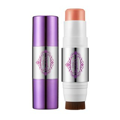 Ottie - Purple Dew Stick Blusher (#02 Sweet Peach)