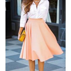 Dream a Dream - Plain Midi Skirt