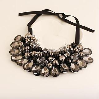 Love Generation - Gemstone Beaded Choker Necklace