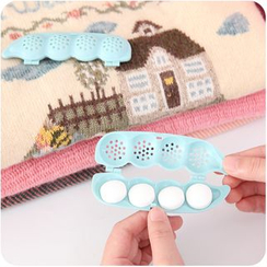 Homy Bazaar - Set of 2: Pea Shaped Mothball Case