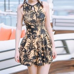 Sweet Splash - Printed Swim Dress