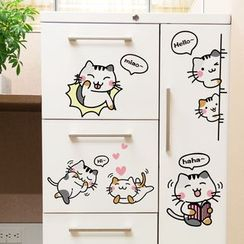 LESIGN - Cats Print Wall Sticker