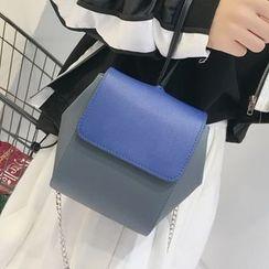 Youshine - Colour Block Shoulder Bag