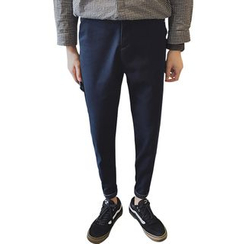 Harvin - Fleece Lined Drop Crotch Pants
