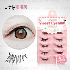 Litfly - Eyelash #105 (5 pairs)