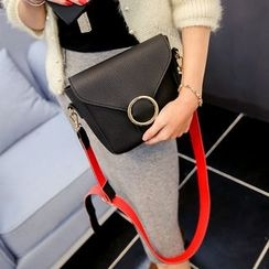 Secret Garden - Buckled Shoulder Bag